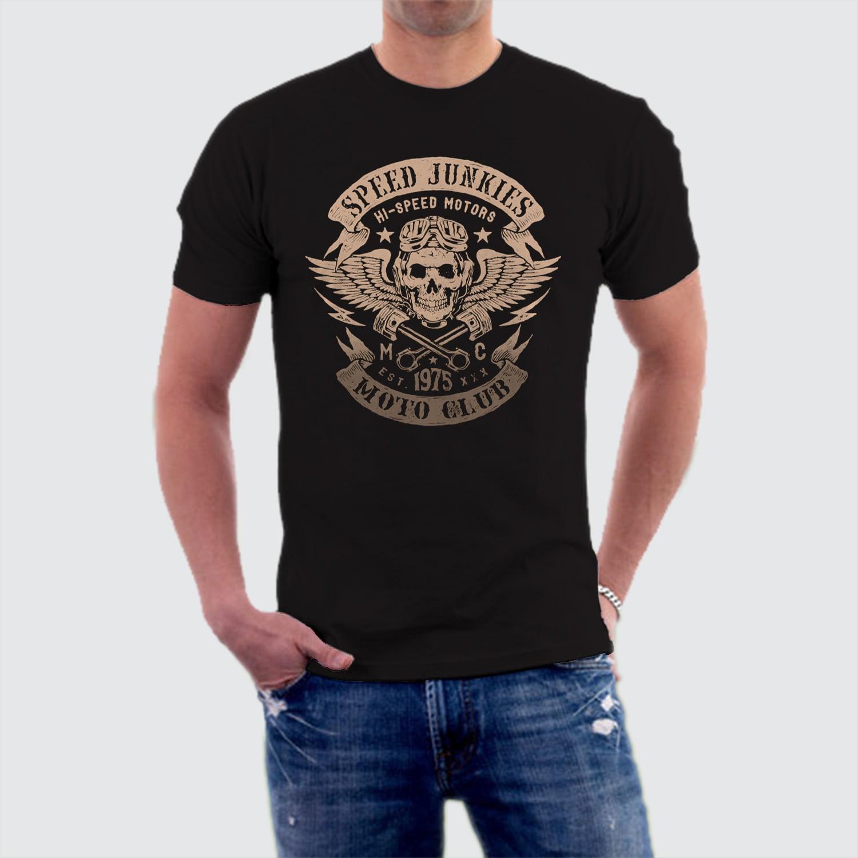 Camiseta Speed Motorcycle