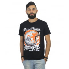 camiseta Race and Flames