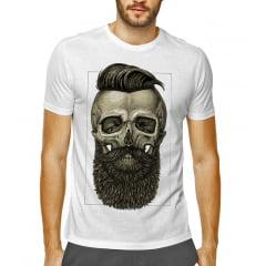 camiseta barber skull