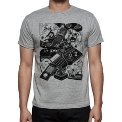 Camiseta Geek Controles Games