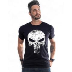 Kit 2 camisetas Caveira + bracelete Caveira