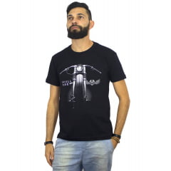 Kit 2 camisetas motorcycle + bracelete Motorcycle